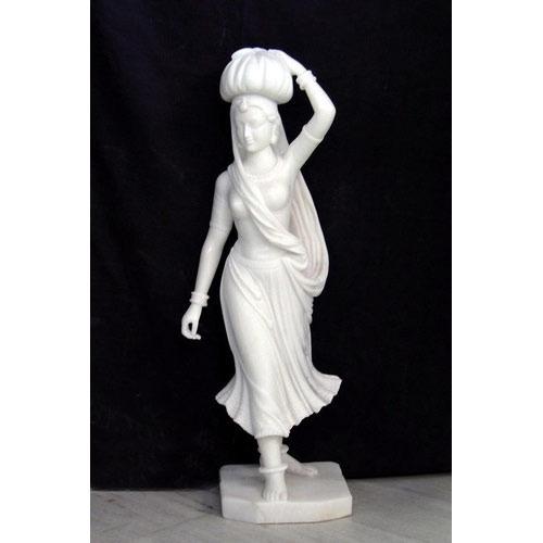 Marble Lady Figure